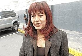 Acusación constitucional contra Tula Benites pasa al Pleno