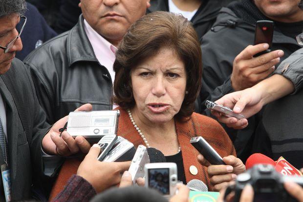 Implicados en 'chuponeo' a Lourdes Flores no están identificados admite Fiscal