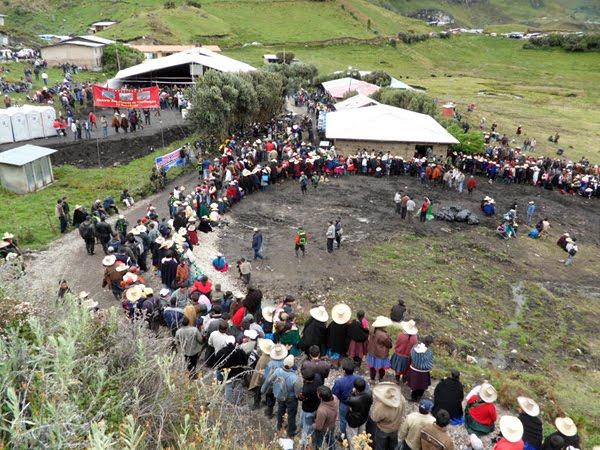 Dirigentes antimineros acordaron radicalizar protestas en Cajamarca