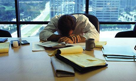 El exceso laboral podría ser perjudicial