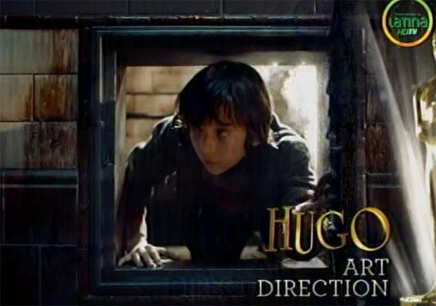 Óscar 2012: La invención de Hugo Cabret, obtiene dos estatuillas