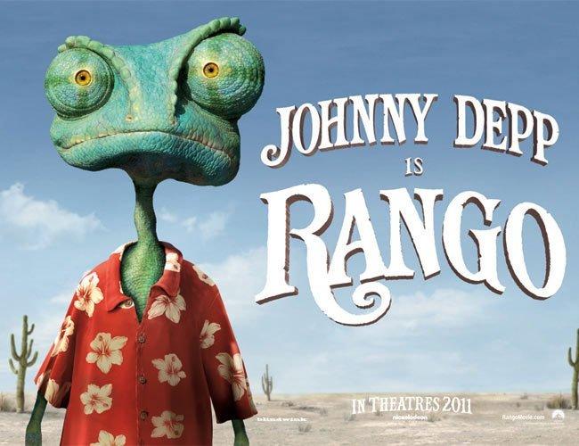 El camaleón Rango gana el Óscar a 'Mejor Cinta Animada'