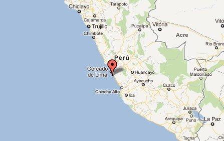 Sismo de 5 grados sacudió Lima esta tarde