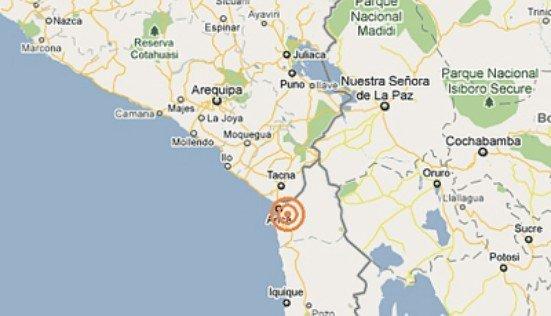 Sismo que sacudió Tacna tuvo intensidad de 6,1 grados