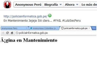 Anonymous publica casi 200 correos de Policía Informática