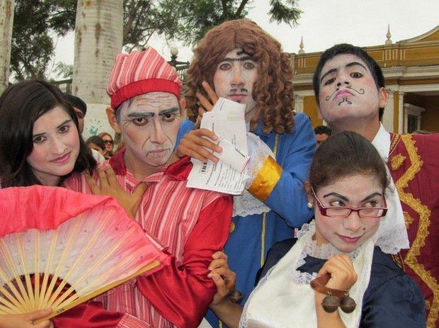 El Día Mundial del Teatro también se celebra en Barranco