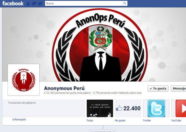 Según Anonymous, Perú perderá el tiempo si busca asesoramiento para ciberguerra