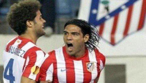 Atlético de Madrid derrotó 4-2 al valencia por la ida de la Europa League