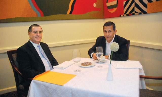 Humala toma café con Valdés y lo respalda como titular de la PCM