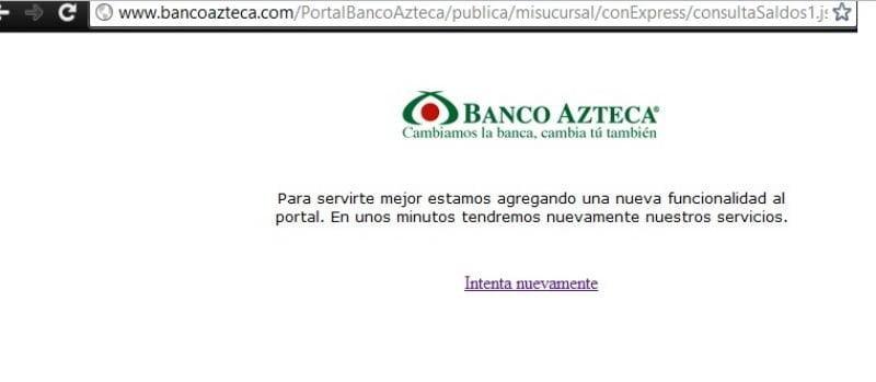 Anonymous ataca sitio web del banco Azteca de México