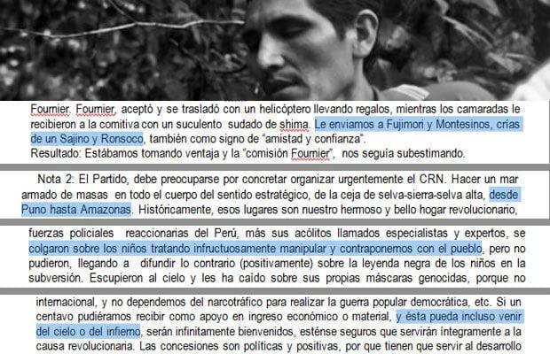 Terrorista Gabriel: 'El apoyo económico del infierno es bienvenido'