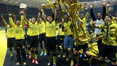 Borussia Dortmund goleó 5-2 al Bayern Munich ganando la Copa de Alemania
