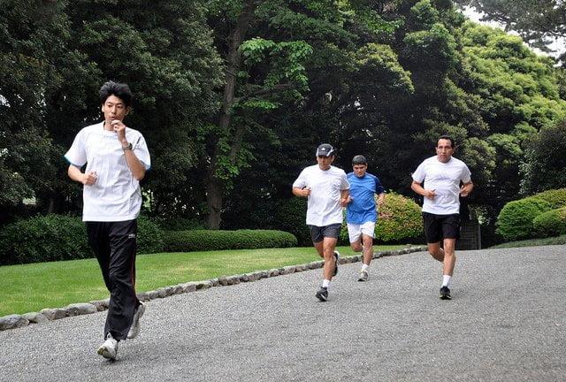 FOTOS: Ollanta Humala trota en Palacio de Akasaka del Japón
