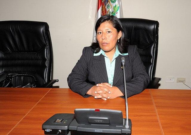 Congresista de Gana Perú fue asaltada en bus interprovincial