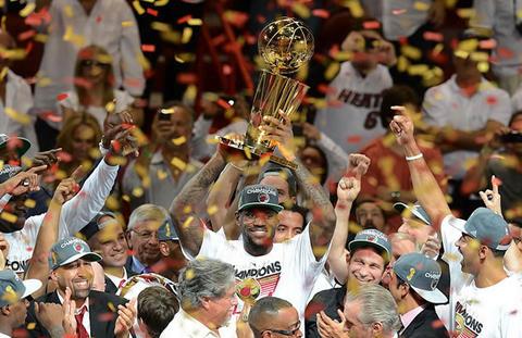 Miami Heat campeón de la NBA por segunda vez en su historia