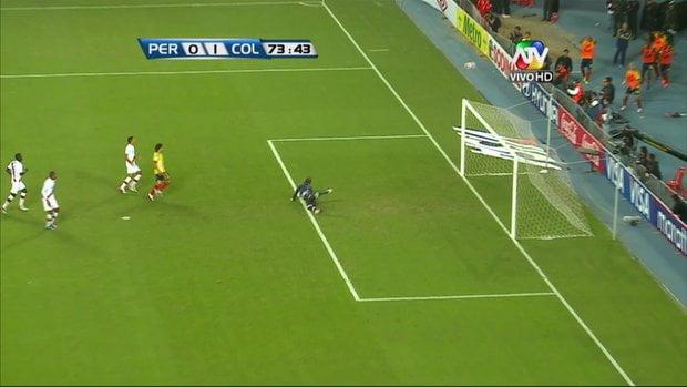 No se pudo: Perú cae 1-0 ante Colombia y pierde el paso al mundial