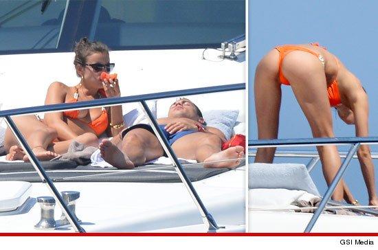 Cristiano Ronaldo duerme una siesta e ignora el bikini de Irina Shayk