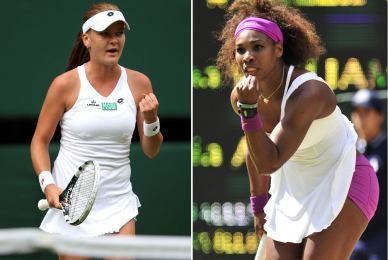 Serena Williams y Radwanska se enfrentarán en la final de Wimbledon