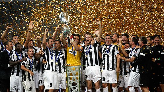 Juventus derrotó 4-2  al Napoli y consiguió la Supercopa de Italia