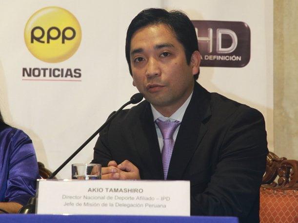 Se aprobó un proyecto de Ley para triplicar el presupuesto a favor del deporte peruano, anunció Akio Tamashiro
