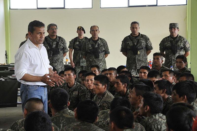 Ollanta Humala promete desarticular Sendero Luminoso antes del 2016
