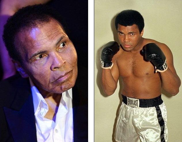 Muhammad Ali apenas puede hablar por mal de Parkinson