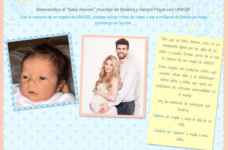 La foto de Sasha, el hijo de Shakira y Piqué..y una obra de bien