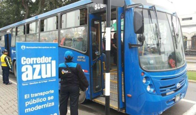 Corredor Javier Prado: En Julio deben circular 119 buses (Foto Radio Panamericana)