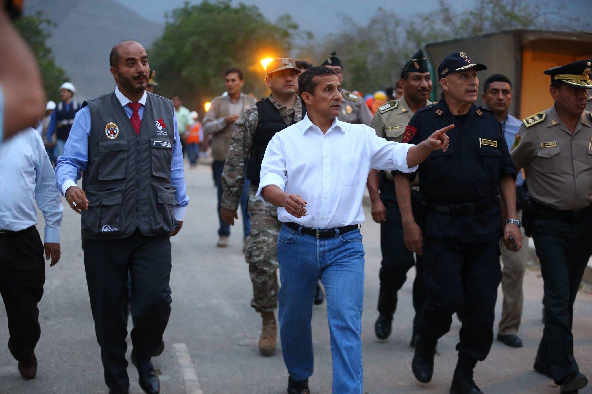 Ollanta Humala ofrece recompensa por captura de Martín Belaunde Lossio