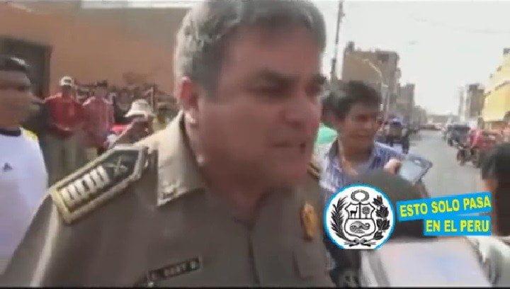 Coronel PNP indignado y molesto con jueces por liberar dos veces a delincuente