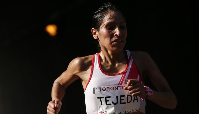 Gladys Tejeda en un difícil momento