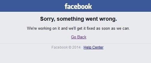 Facebook sufrió una caída mundial