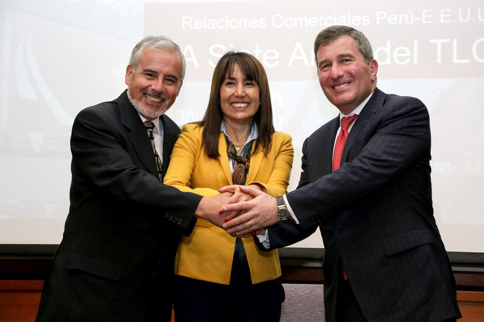 Magali Silva destacó el impulso de las exportaciones no Tradicionales peruana a Estados Unidos desde la vigencia del TLC.