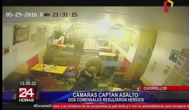 Impactante asalto: entrenador abatió a delincuente en Chorrillos
