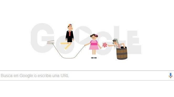 Google recuerda al Chavo del 8 con este doodle