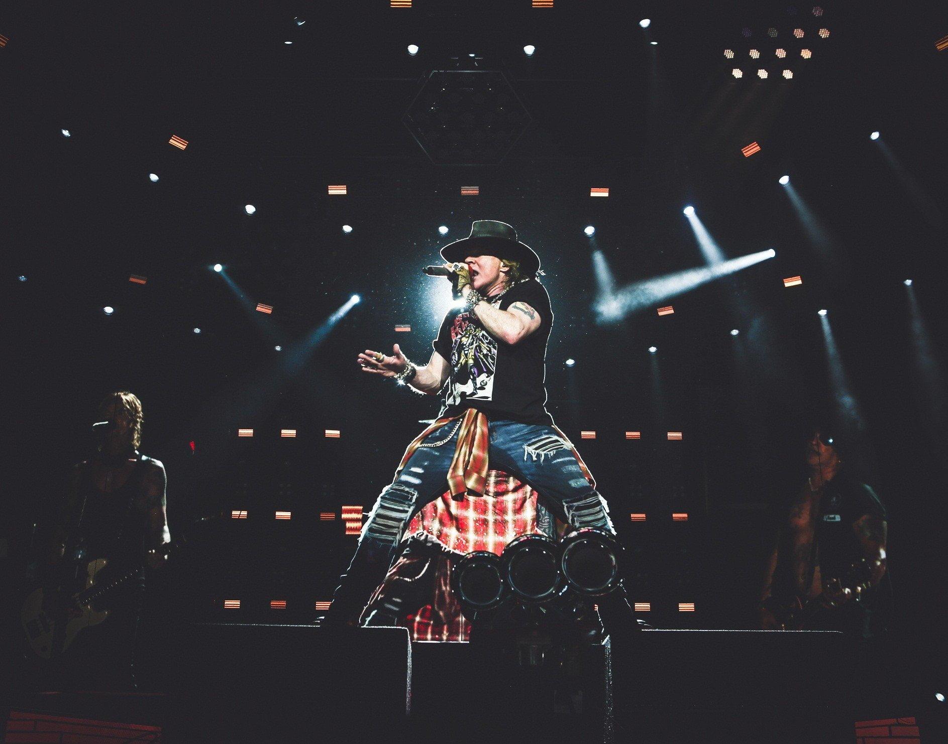 Guns N' Roses vendió el 60% de entradas para concierto en Lima