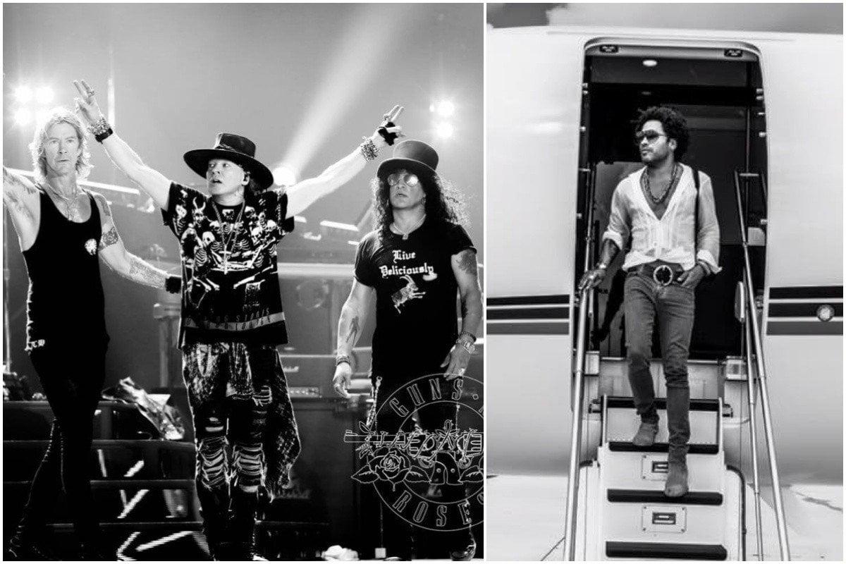 Lenny Kravitz no llega al Perú como telonero de Guns N' Roses