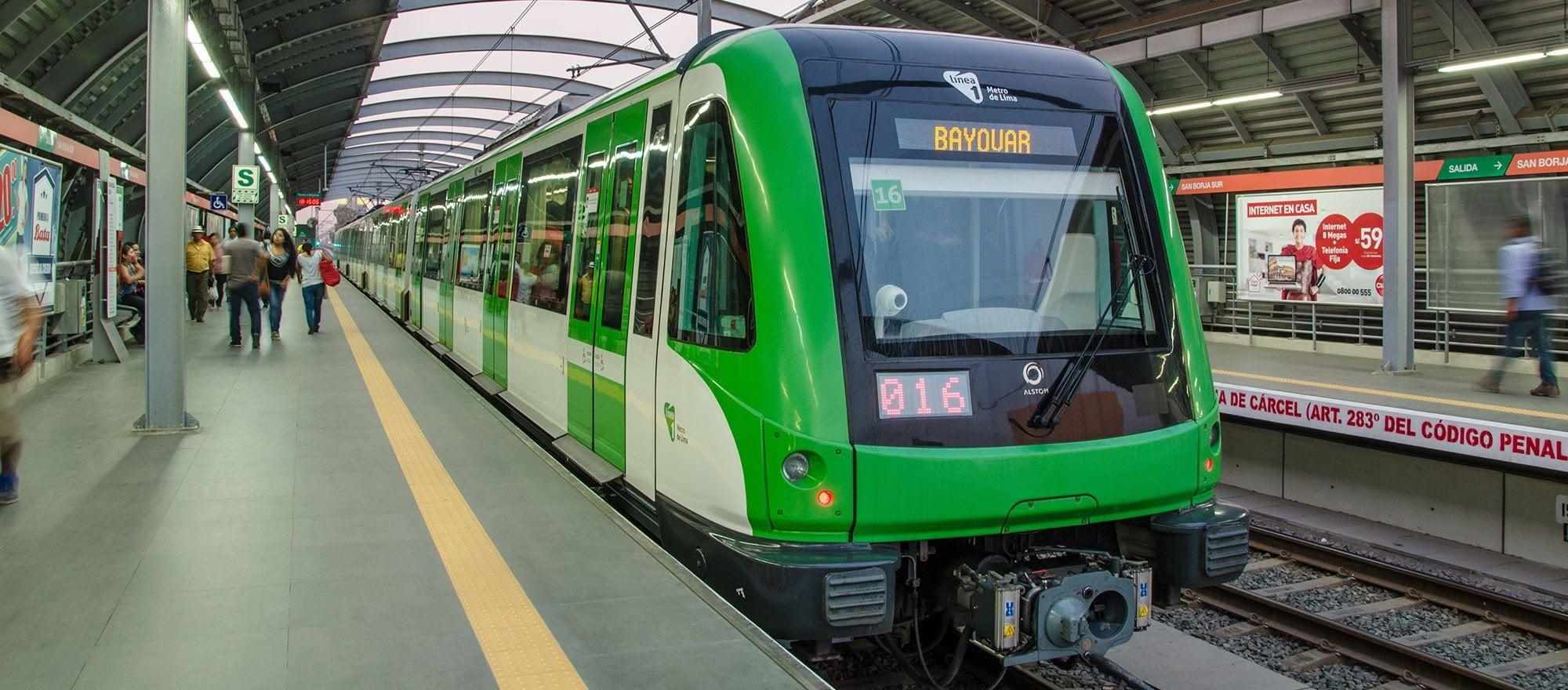 Ante exigencia ciudadana en no más de 24 meses los trenes de la Línea 1 del Metro de Lima estarán operativos