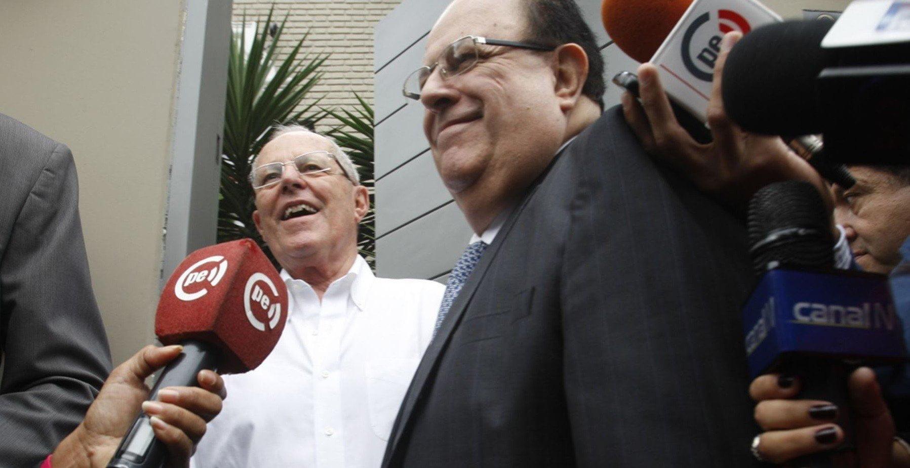 PPK y presidente del BCR dialogan sobre futuro fiscal del Perú