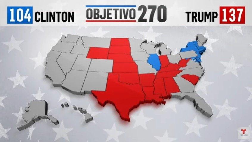 Resultados de elecciones en EE.UU.: Donald Trump
