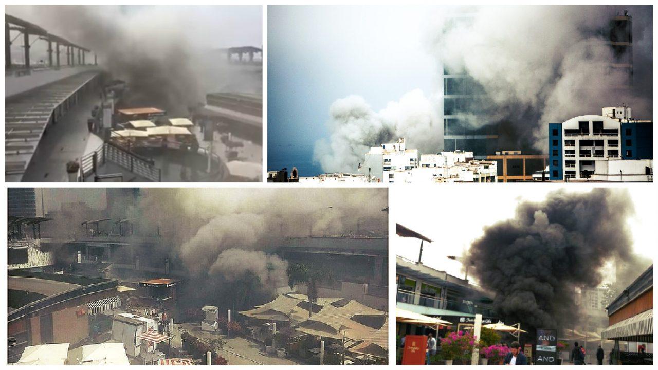 Incendio en Larcomar: difunden lista de fallecidos [VIDEOS]