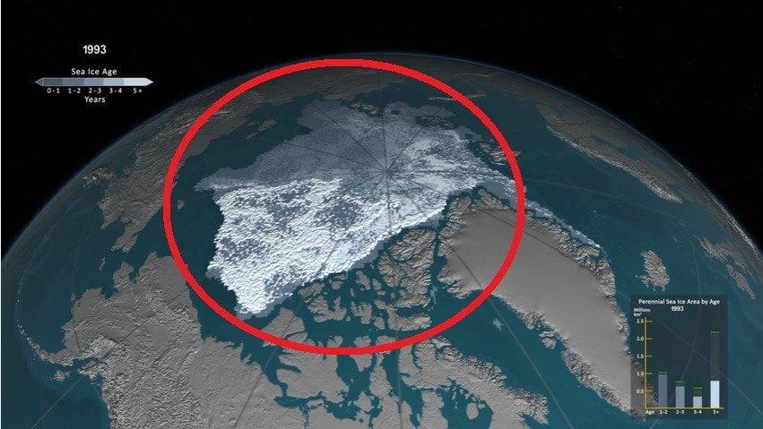 YouTube: así se derritió el hielo en el Ártico en 30 años [VIDEO]