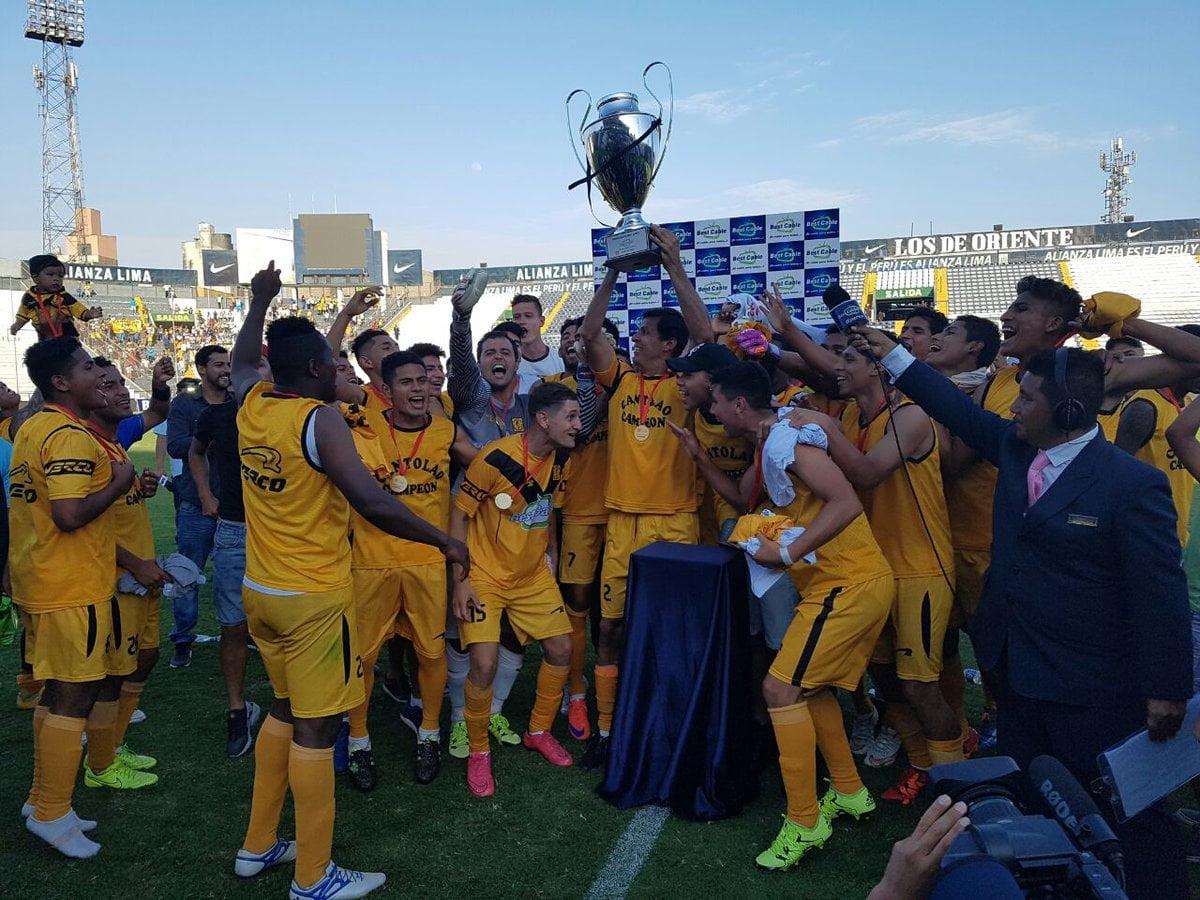 Cantolao ascendió a la Primera División del fútbol peruano