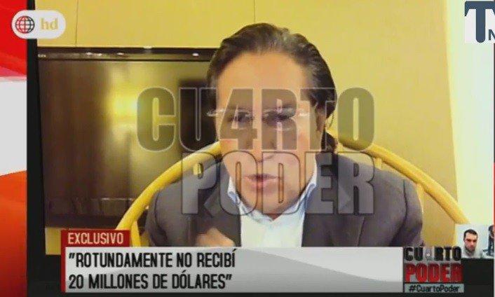 Alejandro Toledo no dio fecha de retorno al Perú pero dice que colaborará con la justicia