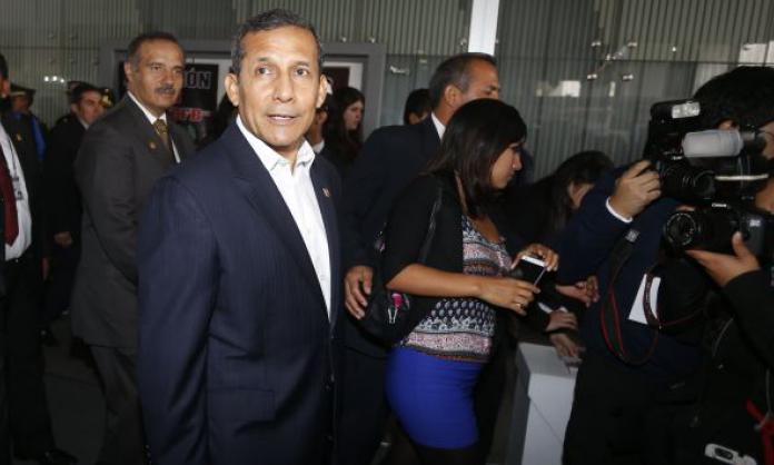 "Ollanta Humala: ""no pertenezco a ese club de presidentes prófugos"""