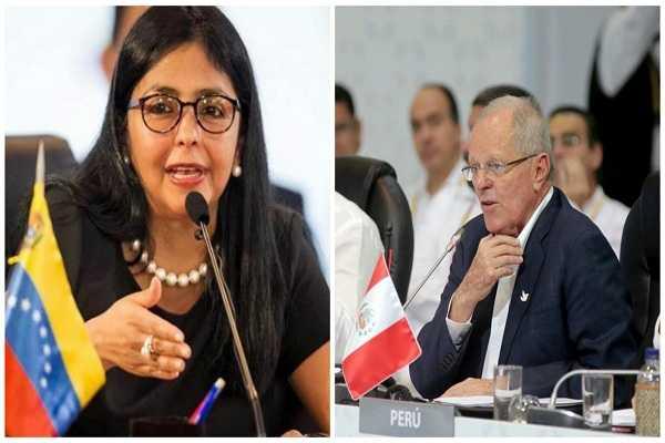 Perú envió nota de protesta al gobierno  venezolano por insultos al presidente Kuczynski