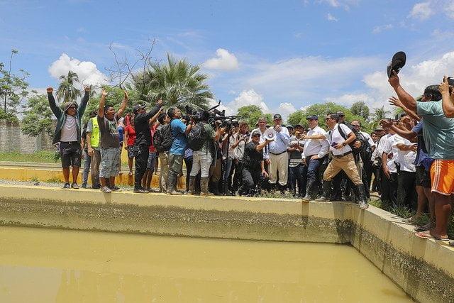 Kuczynski inspeccionó zonas afectadas por las lluvias en Piura y anunció realización de obras