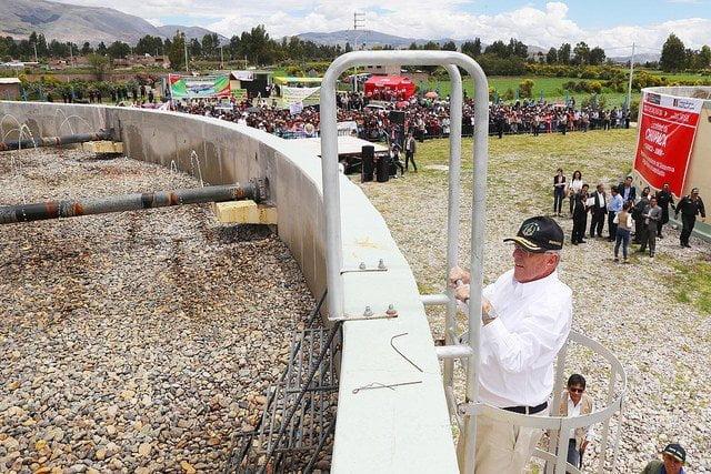 """Kuczynski: """"En todos los pueblos del Perú debe haber agua y saneamiento confiable las 24 horas del día"""""""