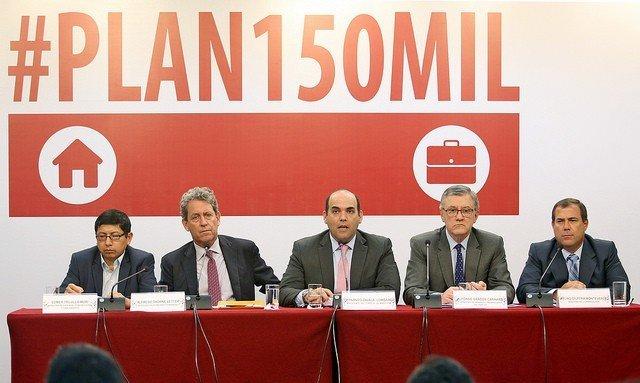 """Fernando Zavala: """"PLAN 150 MIL busca incremento de la economía, del empleo e inversión pública"""""""
