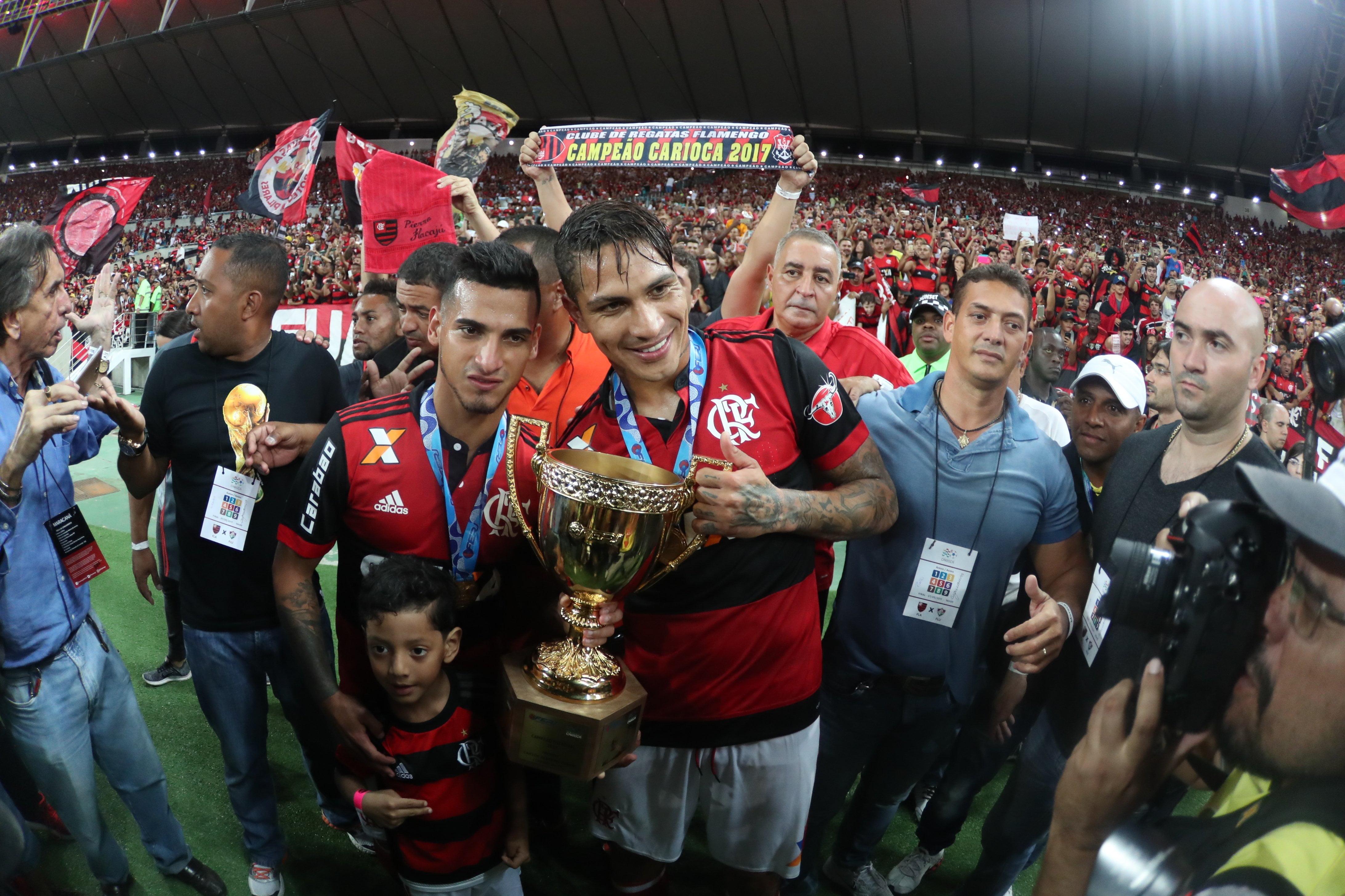 Flamengo se consagró campeón del Carioca con los peruanos Guerrero y Trauco.